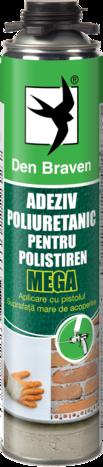 ADEZIV PU POLISTIREN PISTOL MEGA 870ML