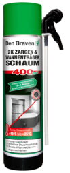 Den Braven 2K-Zargen & Wannenträgerschaum