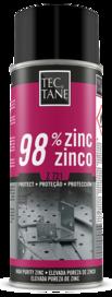 Zinc 98%