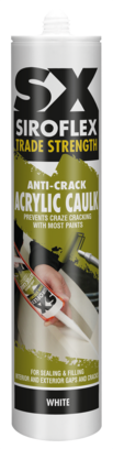 SX Anti-Crack Acrylic Caulk